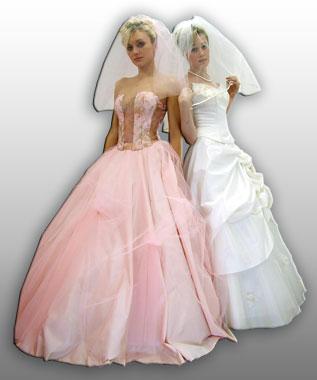 Вечерние платья и свадебные платья